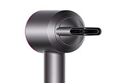 The Dyson Supersonic™ hair dryer with a magnetic attachment