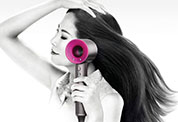 Drying with the Dyson Supersonic™ hair dryer