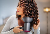 The Dyson diffuser in use
